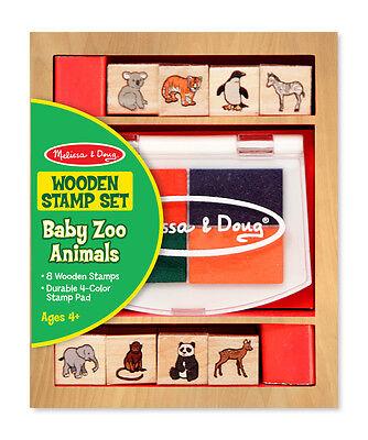 - Melissa & Doug Baby Zoo Animal Stamp Set #1638 Brand New