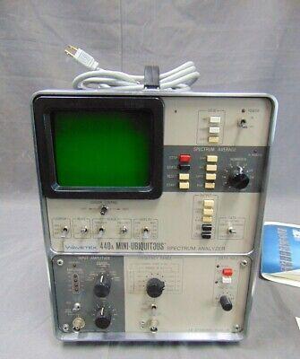 Tektronix Wavetek 440a Mini-ubiquitous Omniferous Fft Spectrum Analalyzer Nsc