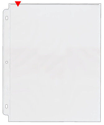 Storesmart Photo Page For 3-ring Binders Archival-safe Plastic 25pk Vh877-25