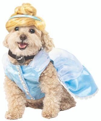Rubies Disney Cinderella Princess Dress Pets Dogs Halloween Costume 200172