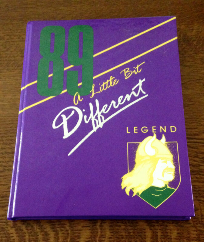 1989 Yearbook CLEVELAND HIGH SCHOOL Portland Oregon Ore OR