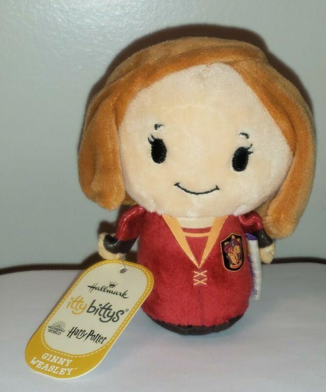 Harry Potter GINNY WEASLEY Itty Bittys Plush by Hallmark NEW Stuffed Toy NWT