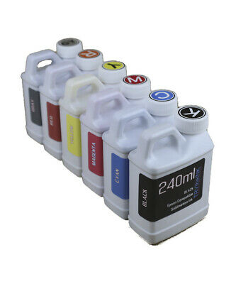 Dye Sublimation Ink 6-240ml Bottles For Epson Expression Photo Xp-15000 Non-oem