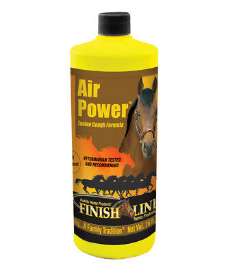 Finish Line Air Power Equine Cough Formula Liquid