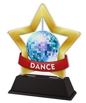 DANCE GOLD STAR GLITTERBALL 3.75