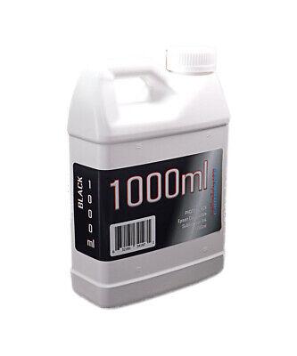 Dye Sublimation Ink Black 1000ml Bottle For Epson Surecolor T3170x Non-oem