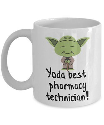 Yoda Best Pharmacy Technician Mug - Pharmacy Technician Gift - Pharmacy