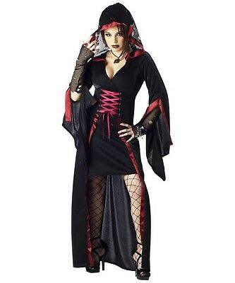 Sexy Twilight Vampire Diaries Gothic Midnight Ritual Halloween Costume Small