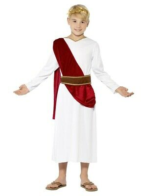 Julius Caesar Roman Emperor Child Costume Toga Boys Youth Kids Children - Roman Boy Kostüm