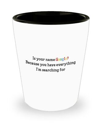 Pick Up Ideas (Funny Love Pun Shot Glasses , Pick Up Lines - Novelty Birthday Gifts)