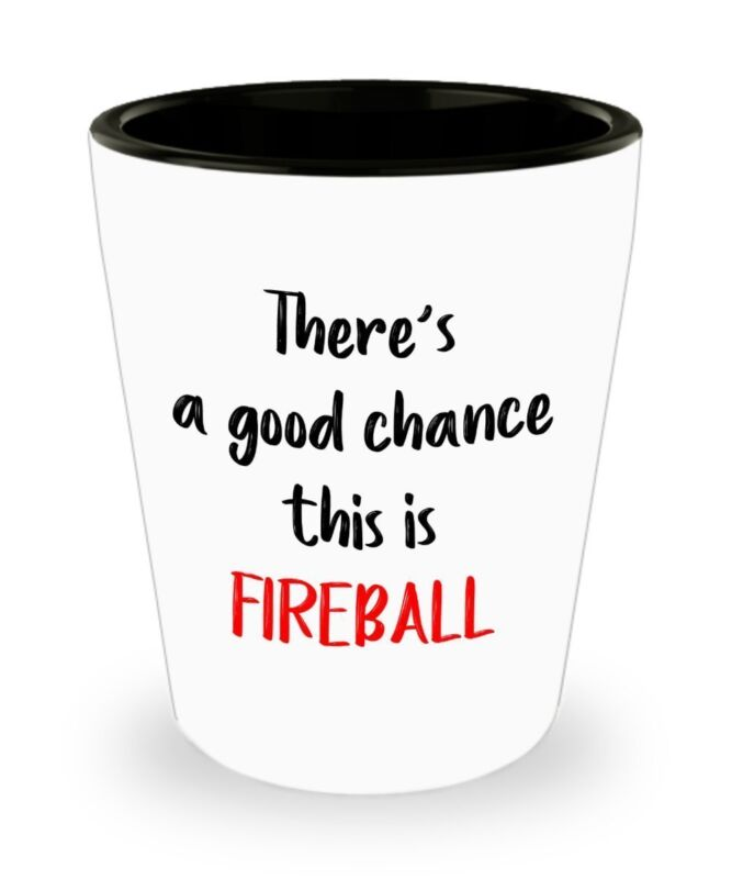 Fireball Whiskey Shot Glasses - There