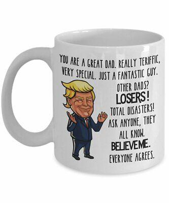 Trump Dad Mug - Trump Fathers Day Mug - Gift for Dad  (Fathers Day Mug)