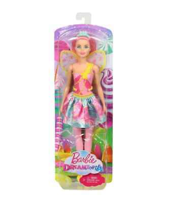 BARBIE DREAMTOPIA Sweetville Fairy Doll with Pink Hair