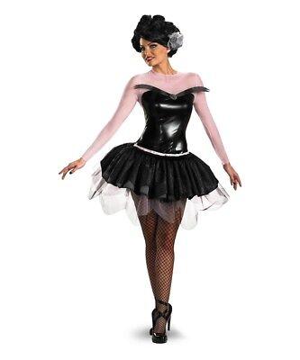 Black SWAN OF DEATH Deluxe Women Small Disguise Ballet Dancer Costume halloween - Halloween Ballet Costumes For Women