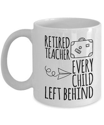 Funny Retirement Gifts For Teacher - Retired Teacher Mug - Retirement Gifts