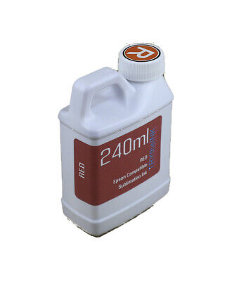 Red Dye Sublimation Ink 240ml For Epson Expression Photo Xp-15000 Non-oem