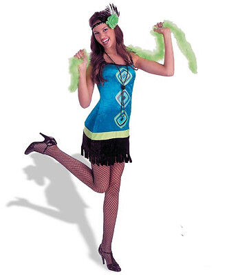 Disguise Trendy 20's Retro Fashion Flapper Teen Girls Costume Size Junior - Teen Flapper Kostüm