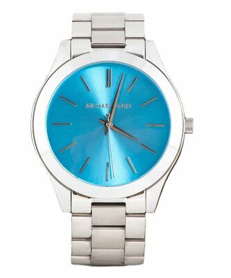 Michael Kors MK3292 Slim Runway Blue Wrist Watch for Women