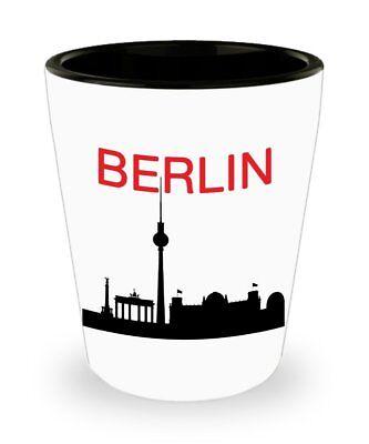 Berlin Shot Glasses - Novelty Birthday Christmas Anniversary Gag Gifts - Birthday Shot Glasses