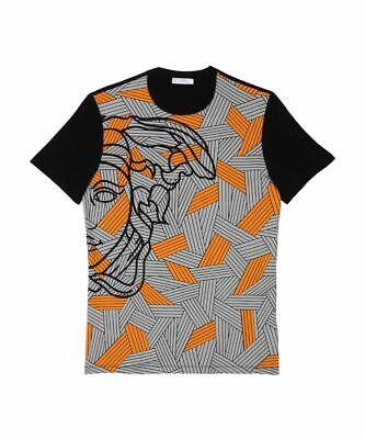 New Versace Collection Men's t shirt Size L Half Medusa