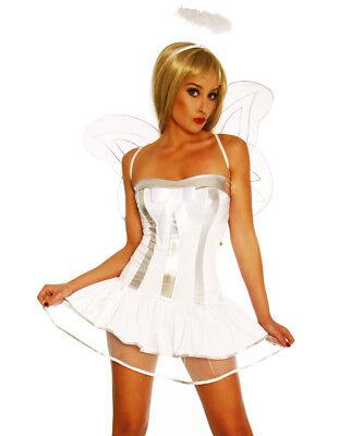 Kostüm Karnevalkleid Frau Engel Weiß 4 Stück Flügel - Flügel Frau Kostüm