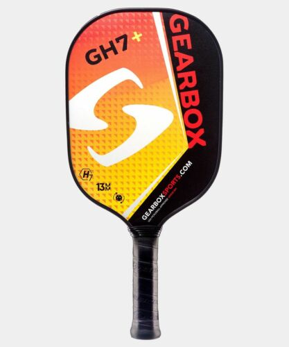 New Gearbox GH7+ Pickleball Paddle - Orange / Yellow