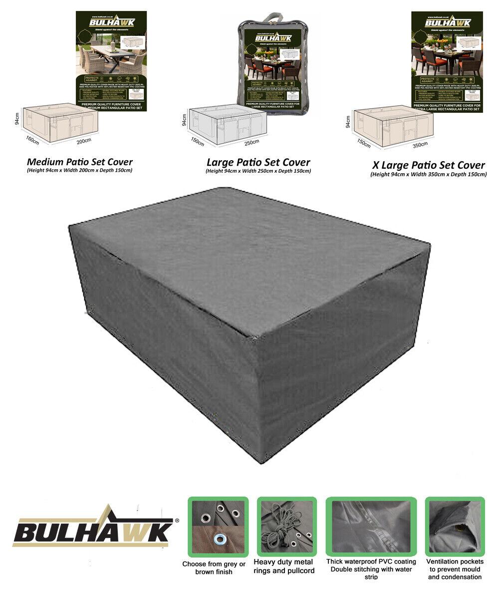 3 dimensioni giardino Patio Furniture Cover impermeabile all/'aperto Copritavolo