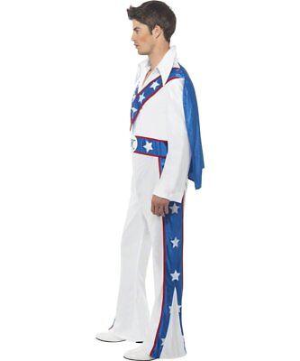 Smi - Karneval Herren Kostüm Evel Knievel Overall - Motorrad Fahrer Kostüme