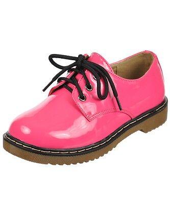 Yokids Shoes (N WOMEN YOKIDS WELMA LO PINK PATENT BIRTHDAY SCHOOL OXFORD SNEAKER DRESS SHOES)
