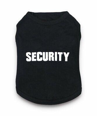 SECURITY Boy Pet Dog Cat Clothes Puppy Vest T Shirt Coat Apparel Costume Summer - Cat Costume Boy