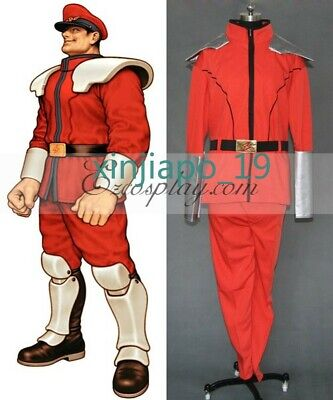 Street Fighter M.Bison Cosplay Costume - M Bison Costume