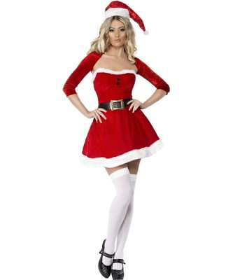 FEVER SANTA BABE FANCY DRESS - Santa Con Kostüme