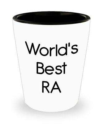 World's Best Ra Shot Glasses - Novelty Birthday Christmas Anniversary Gag... ()