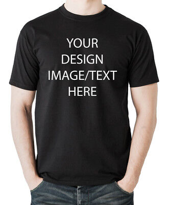 Personalized T-shirt Gift with Your Text or Logo, Picture - Customizable T-shirt (Customizable Gifts)