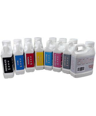 Dye Sublimation Ink 8- 500ml Bottles For Epson Stylus Pro 7800 9800 Non-oem