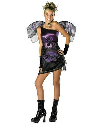 Purple Grecian Fairy Costume Size Junior Teen - Grecian Halloween Costumes
