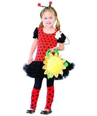 DAISY BUG LADYBIRD INSECT AGE 3-4 COSTUME LEG AVENUE BUGS LIFE BOOK DAY - Daisy Bug Costume