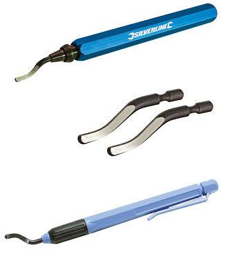 Entgrater Profi 145 mm Handentgrater / Ersatzklingen Metall Rohr 13721