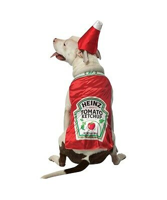 Heinz Ketchup Pet Costume Size LARGE By Rasta Imposta - Heinz Costume