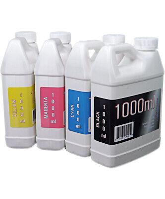 Dye Sublimation Ink 4 1000ml Bottles For Epson Surecolor F170 Printer - Non-oem