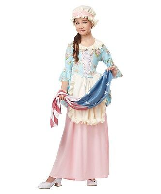 Colonial Girl - Child Betsy Ross/Martha Washington Costume