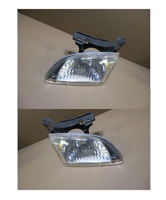 Chevrolet CAVALIER 2000 01 02 Headlights Assembly Driver & Passenger Sedan Coupe