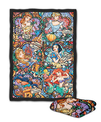 Disney Princess All Star Mosaic Blanket ( KIDS / MEDIUM / LARGE -