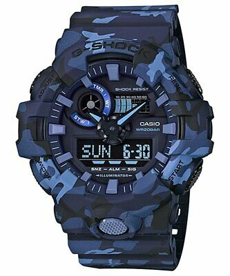 CASIO watch G-SHOCK analog digital combination camouflage GA-700CM-2A men...