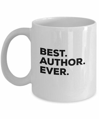 Author Gifts - Best Author Ever Mug - For Women Men Authors Birthday -