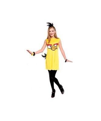 New Angry Birds Yellow Bird Child Costume Medium - Bird Costume Child
