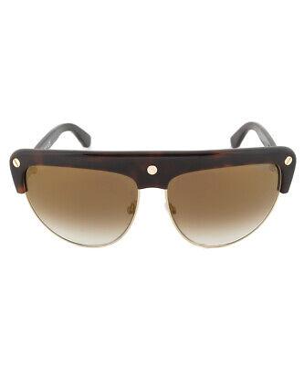 Tom Ford FT0318 52G Liane Shield Sunglasses - Tortoise Brown Frame   Brown