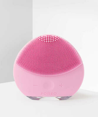 Foreo Luna Mini 2 Facial Cleansing Brush Skin Care Device Pearl Pink,Genuine!