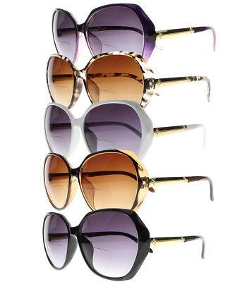 Bifocal spezielle Rahmen Sun Leser Lesebrille getönte Objektiv Sonnenbrillen