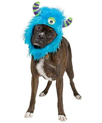 Monsters Inc Costumes For Dogs (MONSTERS INC HOUND Dress Up Costume Adjustable Clothes Puppy Pet Set NEW)